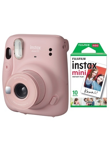 Fujifilm instax mini 11 Pembe Fotoğraf Makinesi 10lu Film Pembe
